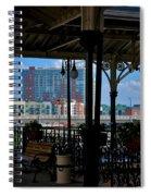 The Trainstation In Nashville Spiral Notebook