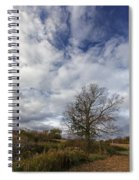The Tree At The Side Of The Road Spiral Notebook