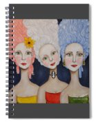 The Triplets Spiral Notebook