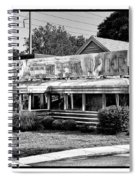 The Trolley Car Diner - Chestnut Hill Philadelphia Spiral Notebook