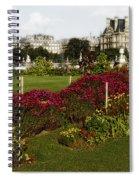 The Tuilleries Garden In Paris Spiral Notebook