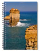 The Twelve Apostles In Port Campbell National Park Australia Spiral Notebook