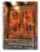 The Union Woodshop Clarkston Mi Spiral Notebook