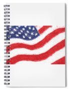 The United States Flag Spiral Notebook