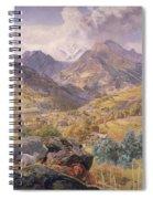 The Val D'aosta Spiral Notebook
