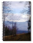 The Vermont Woods - Stowe Spiral Notebook