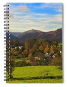 The Village Of Watermillock In Cumbria Uk Spiral Notebook