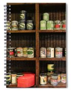 The Vintage Pantry At Vulcan Spiral Notebook