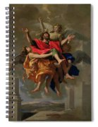 The Vision Of St. Paul Spiral Notebook