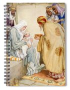 The Visit Of The Wise Men Spiral Notebook