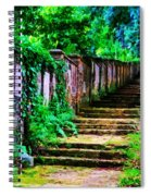 The Wall Of Gravestones Spiral Notebook