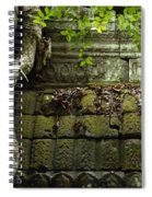 The Wall Ta Prohm 2 Spiral Notebook