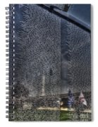 The Wall That Heals Spiral Notebook