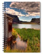 The Water Shed Spiral Notebook