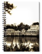 The Waterworks In Sepia Spiral Notebook