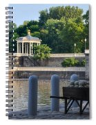 The Waterworks Wheelbarrow - Philadelphia Spiral Notebook