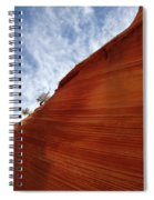 The Wave A Bit Of Heaven Spiral Notebook