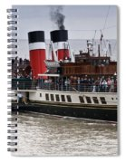 The Waverley Paddle Steamer Spiral Notebook