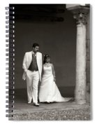 The Wedding Couple Spiral Notebook