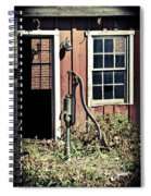 The Well Has Run Dry Spiral Notebook