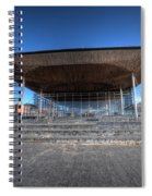 The Welsh Assembly Building 2 Spiral Notebook