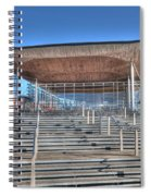 The Welsh Assembly Building Spiral Notebook