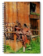 The Western Saddle Spiral Notebook