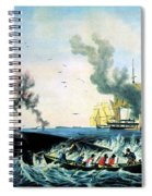 The Whale Fishery, 19th Century Spiral Notebook