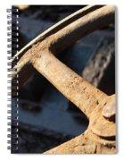 The Wheel Spiral Notebook