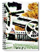 The Wheels Of War Keep On Turning Spiral Notebook