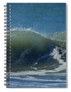 The Windblown Wave Spiral Notebook