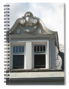 The Window Quebec City Spiral Notebook
