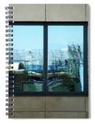 The Window To An Ever Changing World  Spiral Notebook