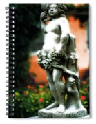 The Wine Nymph Spiral Notebook