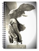 The Winged Victory - Paris Louvre Spiral Notebook