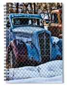 The Winter Of Existence Spiral Notebook