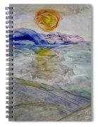 The Winter Sun Spiral Notebook