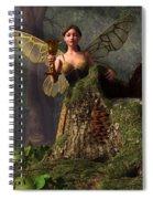 The Wood Sprite Spiral Notebook