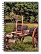 The Wooden Cart Spiral Notebook