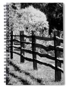 The Wooden Fence Spiral Notebook
