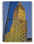The Wrigley Building Spiral Notebook