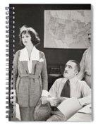 The Yelllow Typhoon, 1920 Spiral Notebook
