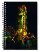 The Zipper  Spiral Notebook