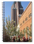 Theater District And City Flowers Spiral Notebook