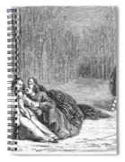Theater: Duel, 1860 Spiral Notebook