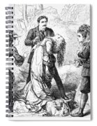Theater: False Shame, 1872 Spiral Notebook