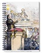 Theodore Parker (1810-1860) Spiral Notebook