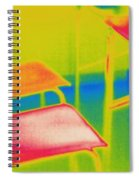 Thermal Shadow Spiral Notebook