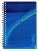 Thermogram Of Hot Water And A Faucet Spiral Notebook