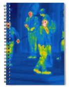 Thermogram Of Kids Hanging Spiral Notebook